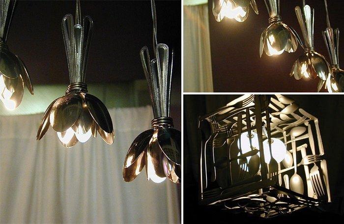 дизайн светильников в интерьере