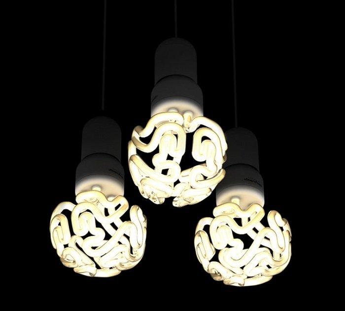 дизайн точечных светильников в спальне