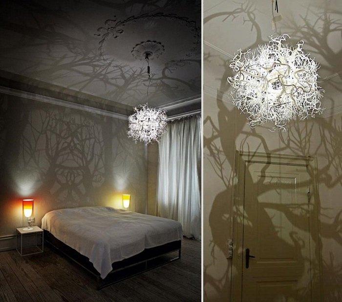 дизайн встроенных светильников