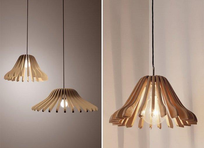 дизайн точечных светильников на кухне