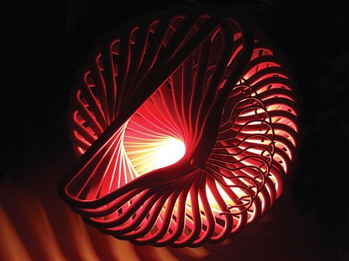 дизайн светильников над кроватью