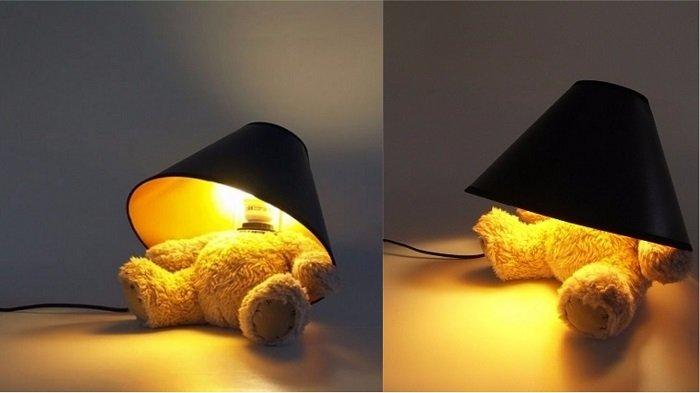 дизайн светильников на стене