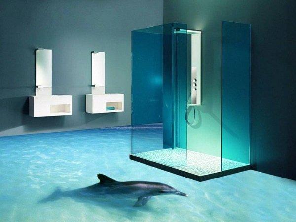 3D дизайн ванной