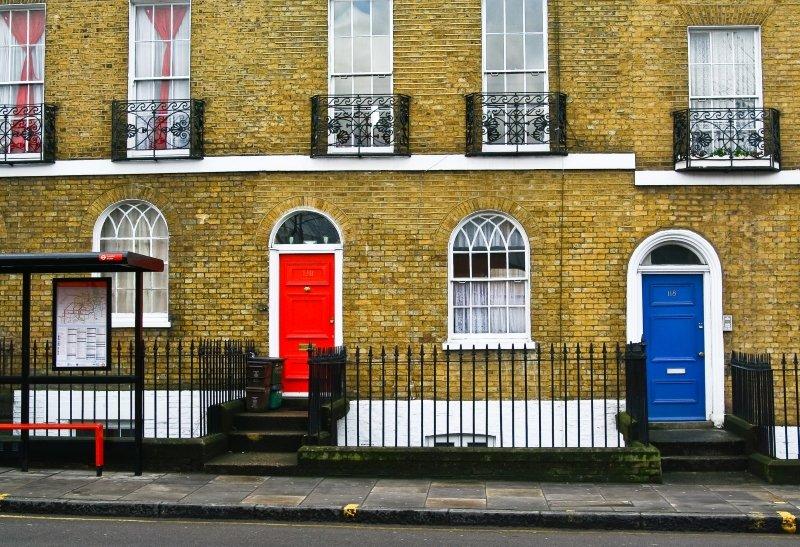 Дома в Лондоне