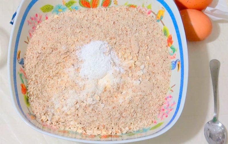 домашнее печенье из овсяных хлопьев рецепт