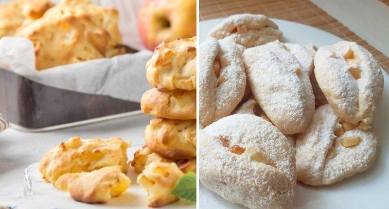 Печенье «Ротики» на маргарине, чтобы посыпать пудрой горячие