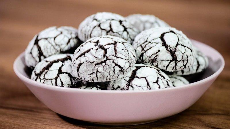 домашние печенье шоколадное