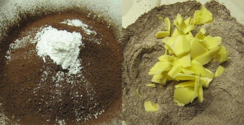 вкусное домашнее шоколадное печенье