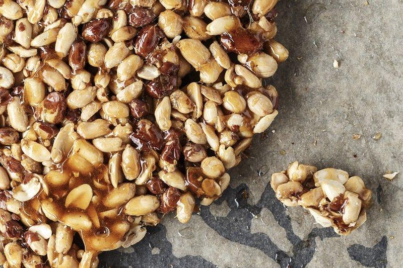 домашние козинаки с грецкими орехами