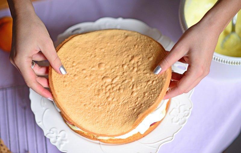 медовый бисквит в духовке рецепт
