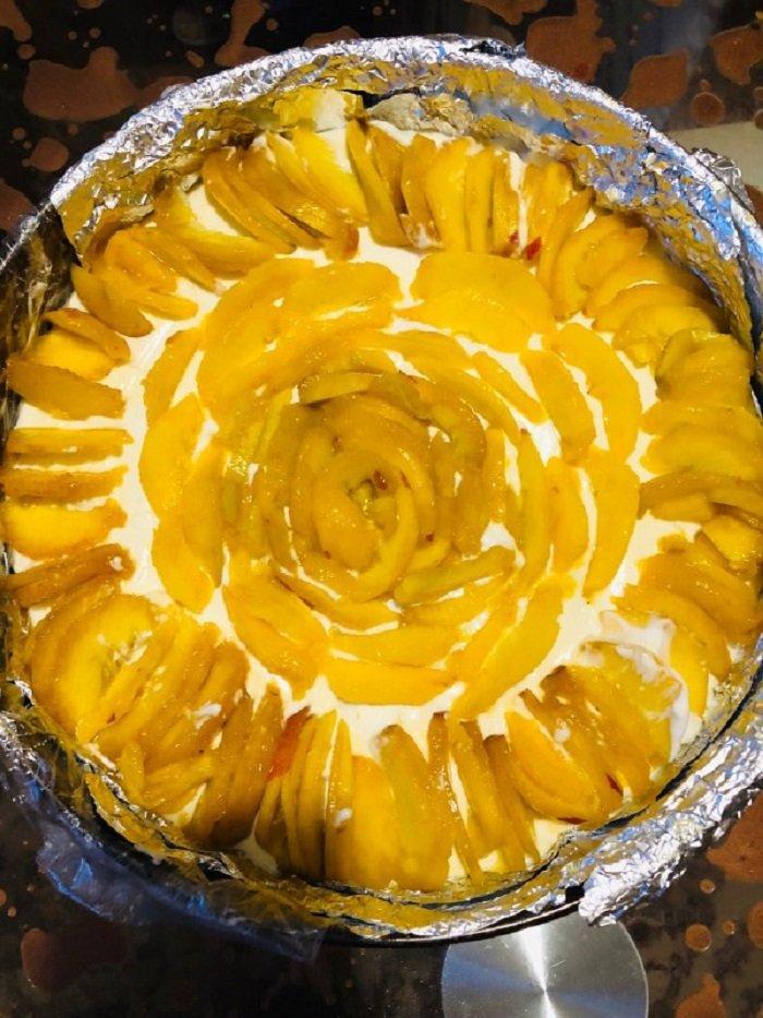 фруктовый чизкейк