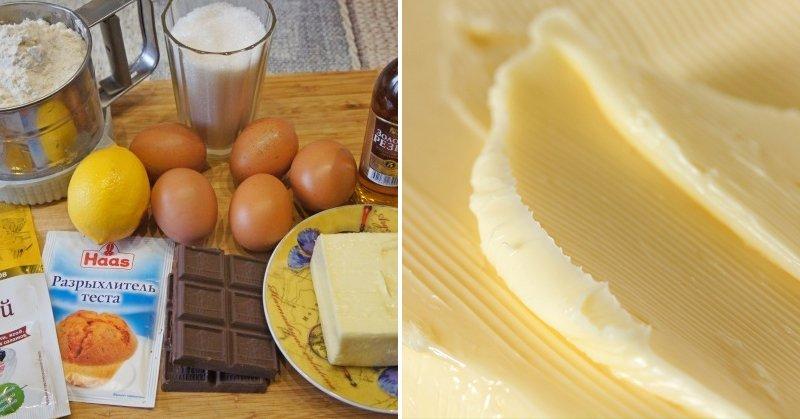 кекс мраморный рецепт