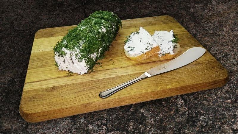 сливочный сыр из кефира