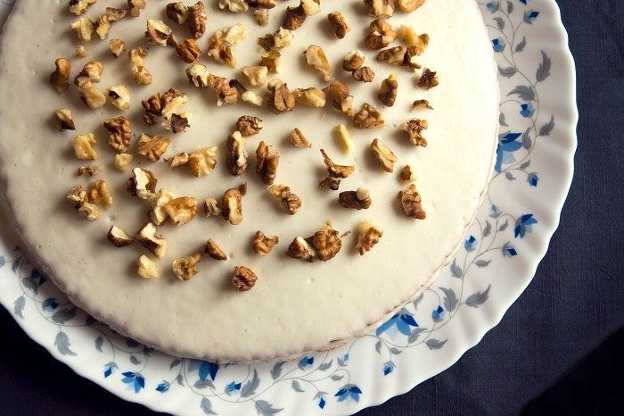 Домашний торт с грецкими орехами