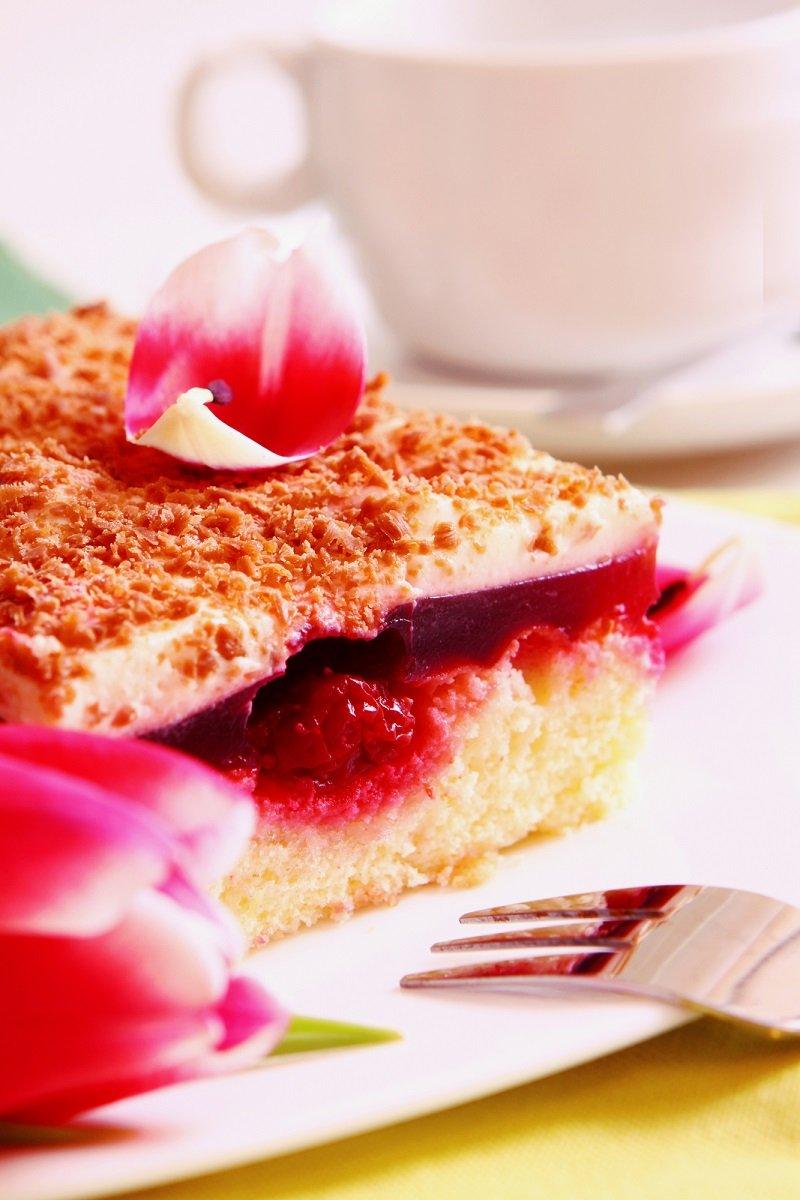 вишневый аромат торт