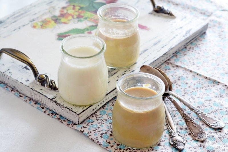 Как приготовить домашний карамельный йогурт кулинария