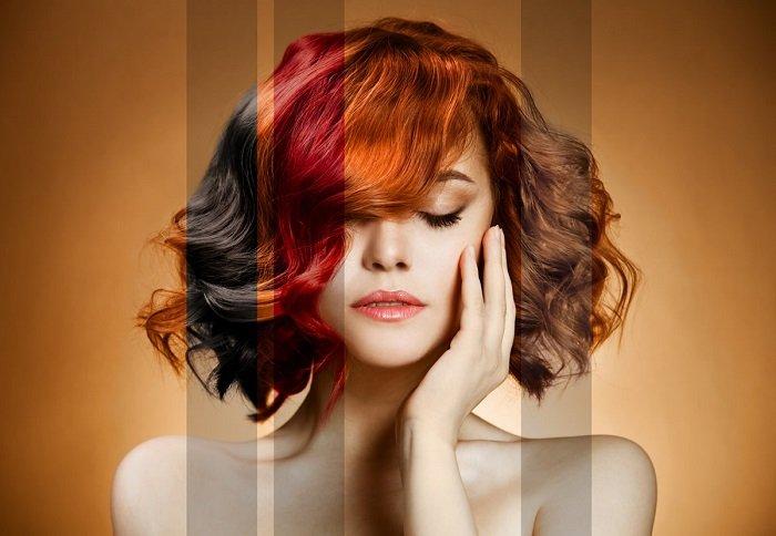 натуральная краска для волос в домашних условиях