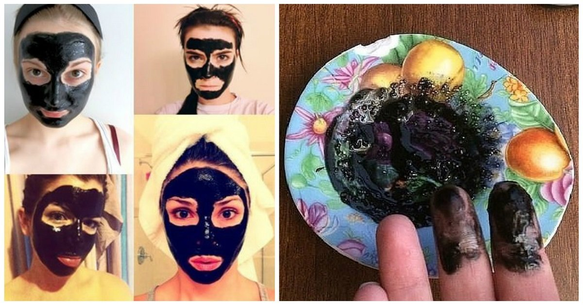 Древесный уголь своими руками маска 80