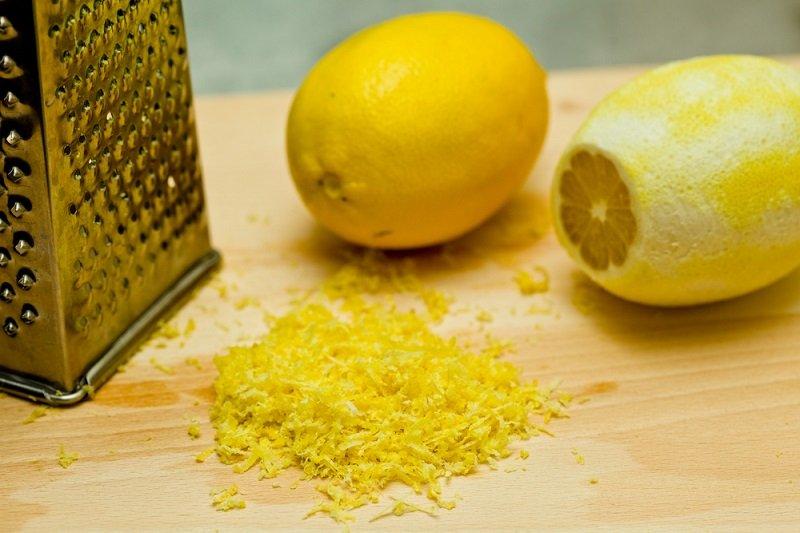 цедра лимона фото