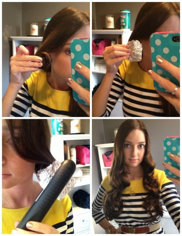 как завить волосы