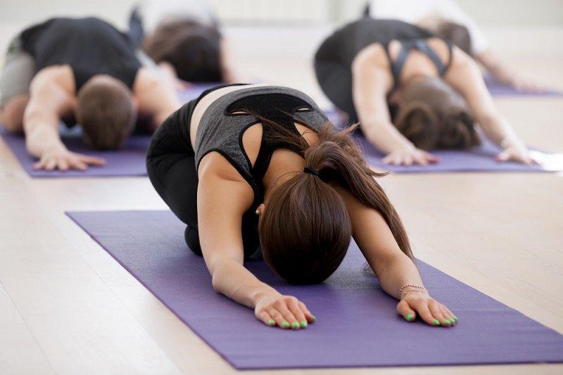 Домашняя йога для спины