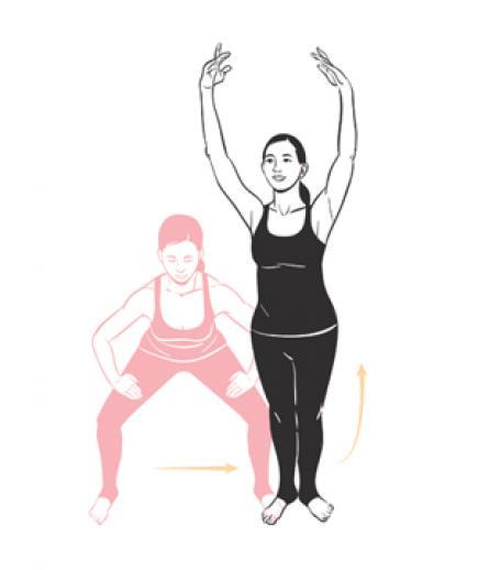 упражнение сумо