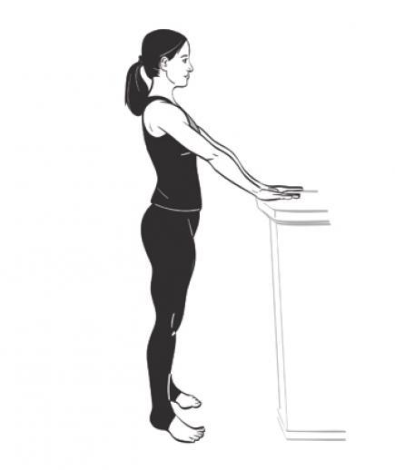 упражнение струнка