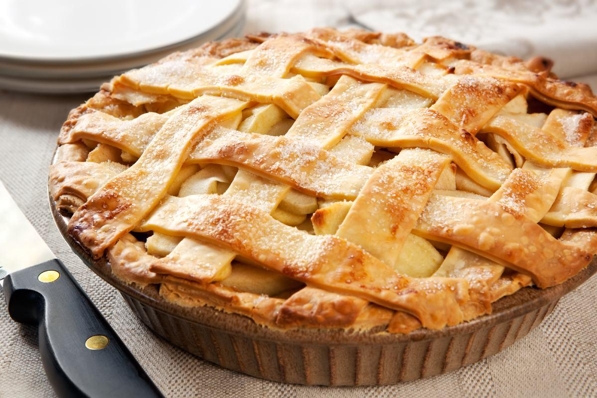 подробный рецепт яблочного пирога с фото щиповки