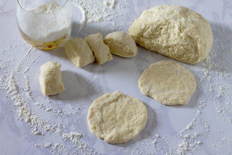 беляши тесто