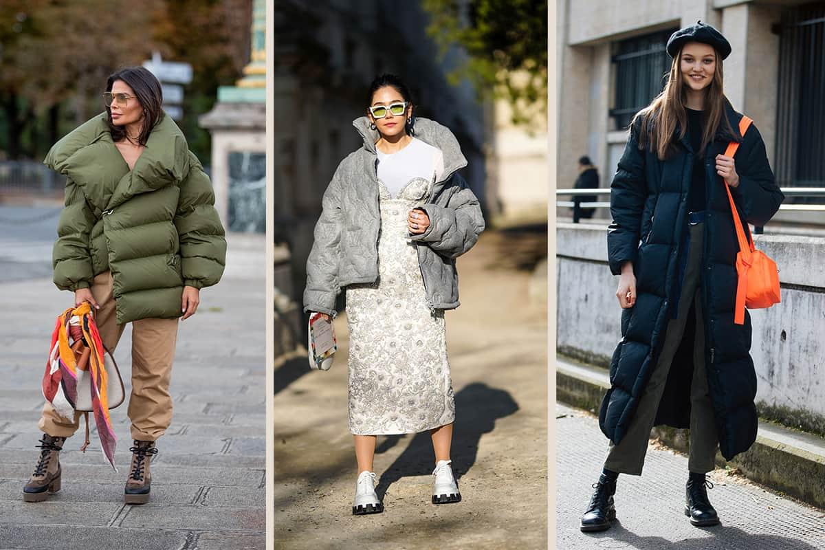 Как носить дутый пуховик, чтобы незнакомые стилисты делали комплименты Вдохновение,Советы,Гардероб,Женщины,Зима,Куртки,Мода,Одежда,Пуховик,Стиль