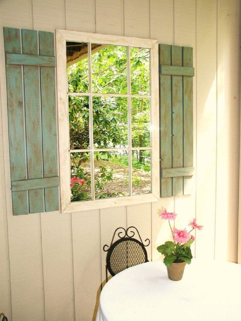 окна во дворе