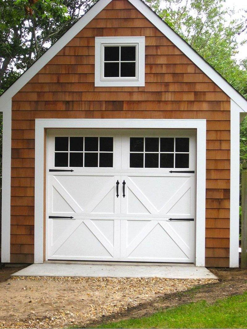 дверь в гараж
