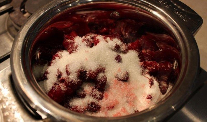 варенье из черешни рецепт