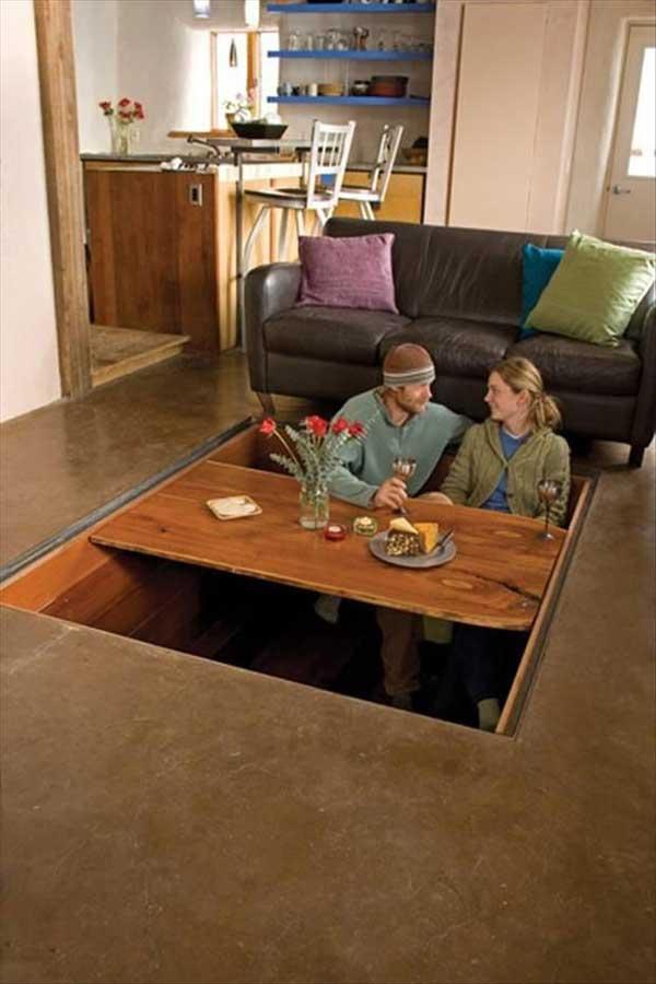 экономия пространства в доме