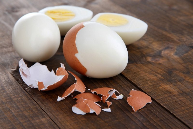 вареные яйца польза