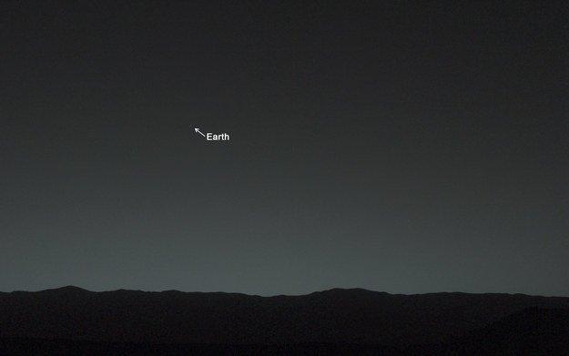 Земля с Марса