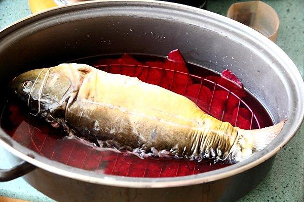 фаршированная рыба без костей
