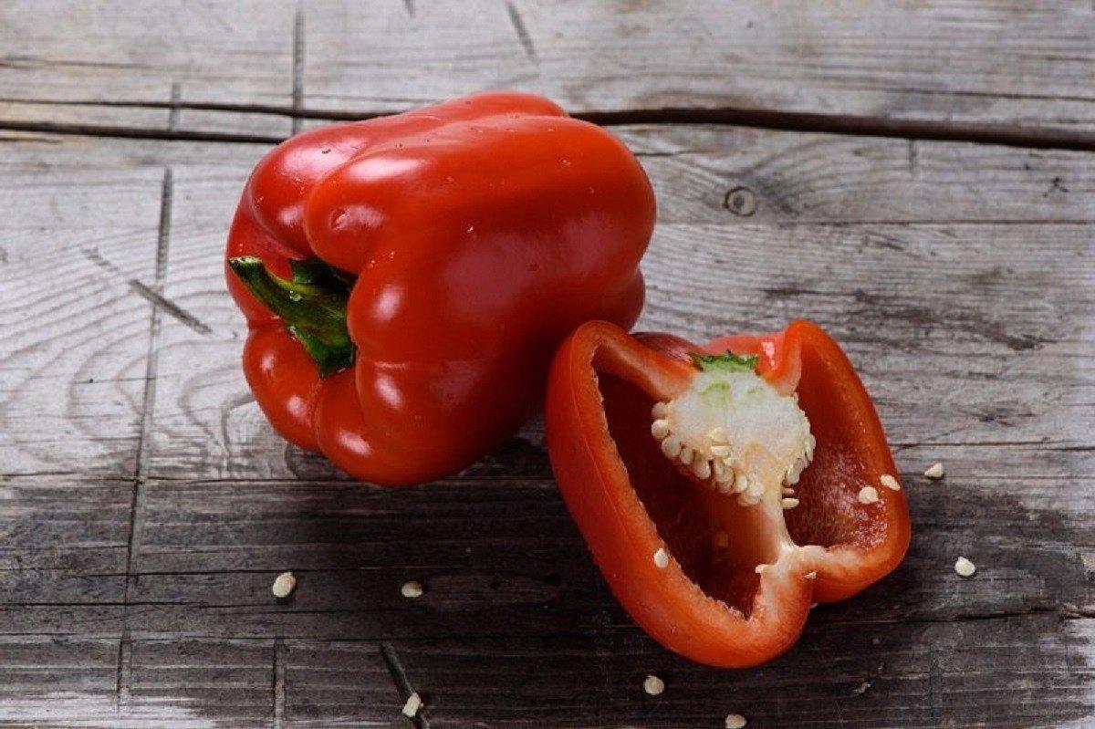 болгарский перец в разрезе