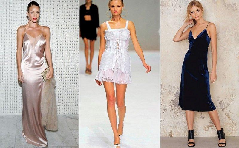 самые модные платья для женщин