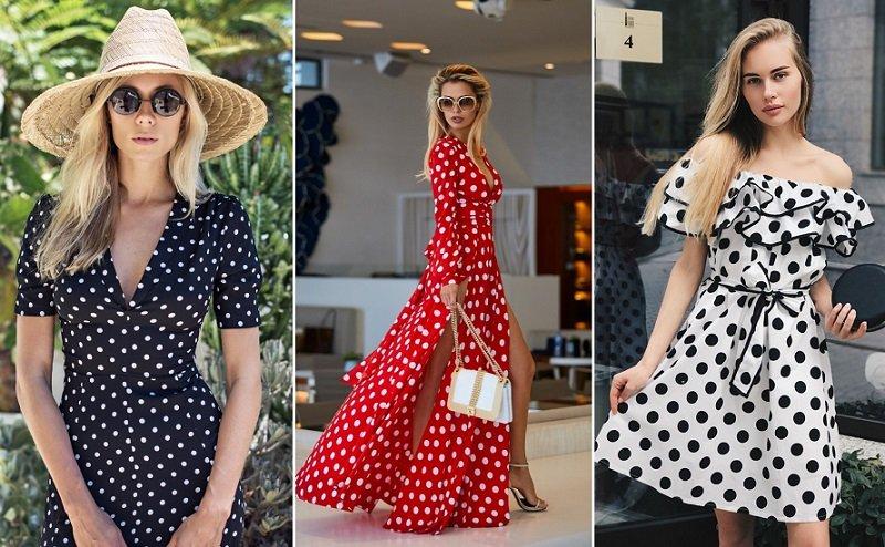 стильные платья 2018 года