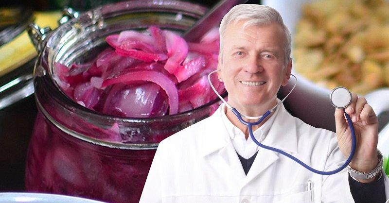 фиолетовый лук польза