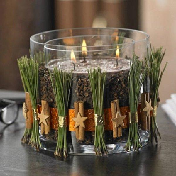 свадебные композиции со свечами