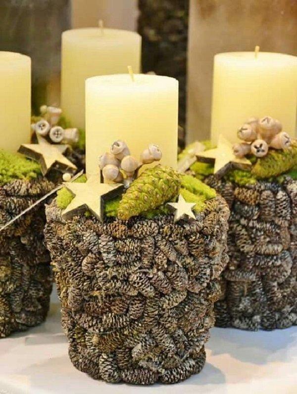 красивые композиции со свечами