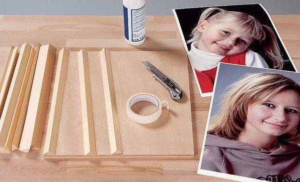 Как сделать на рамку с двух сторон