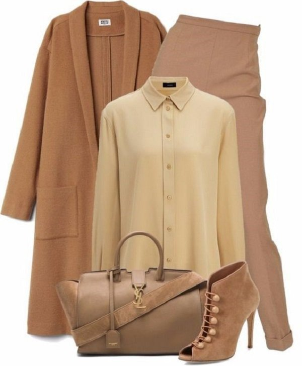 современный французский стиль в одежде