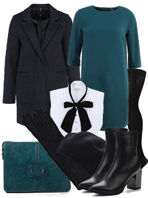 французский стиль в одежде осень