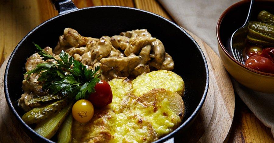 Как приготовить легендарное французское фрикасе из курицы: просто и очень вкусно.