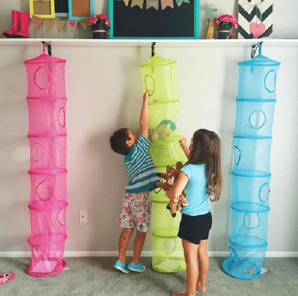 подвесные сетки для игрушек