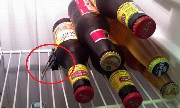 хранить пиво в холодильнике