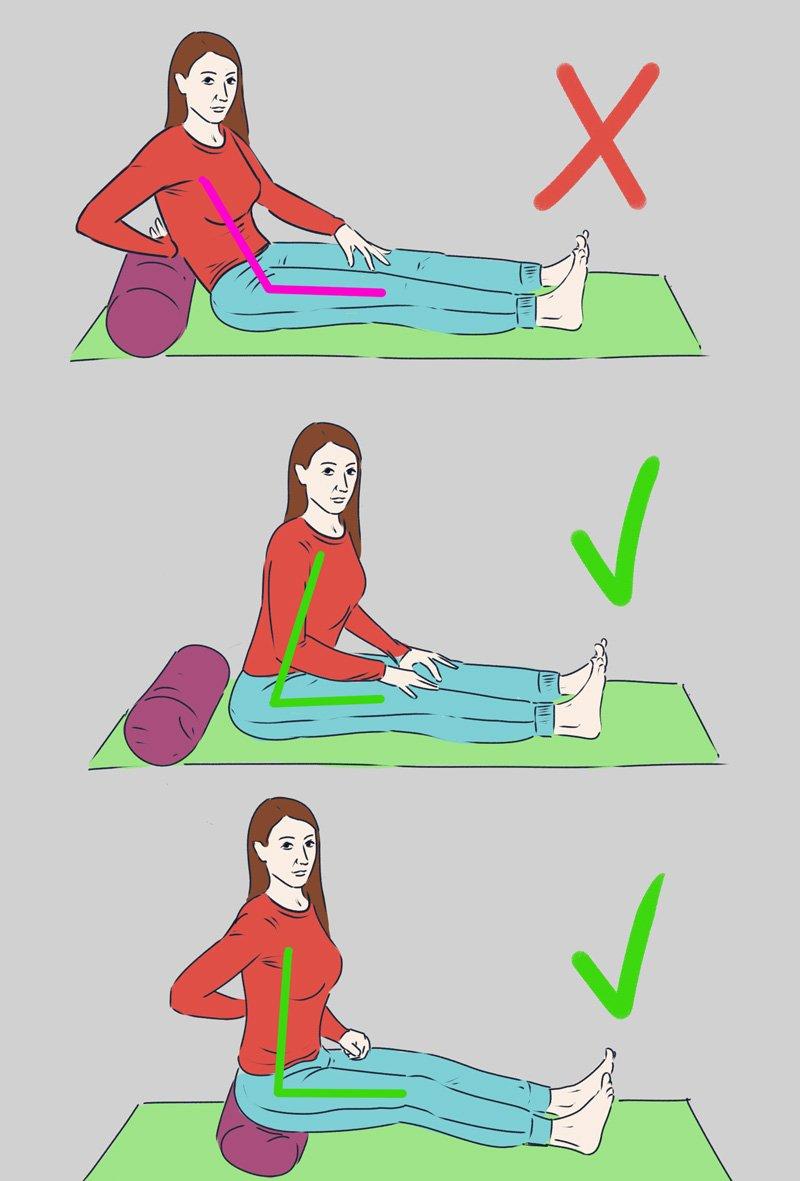 гимнастика для больных ног